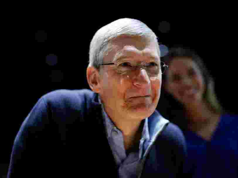 A look inside the daily routine of Apple CEO Tim Cook, who wakes up before dawn and gets up to 800 emails a day