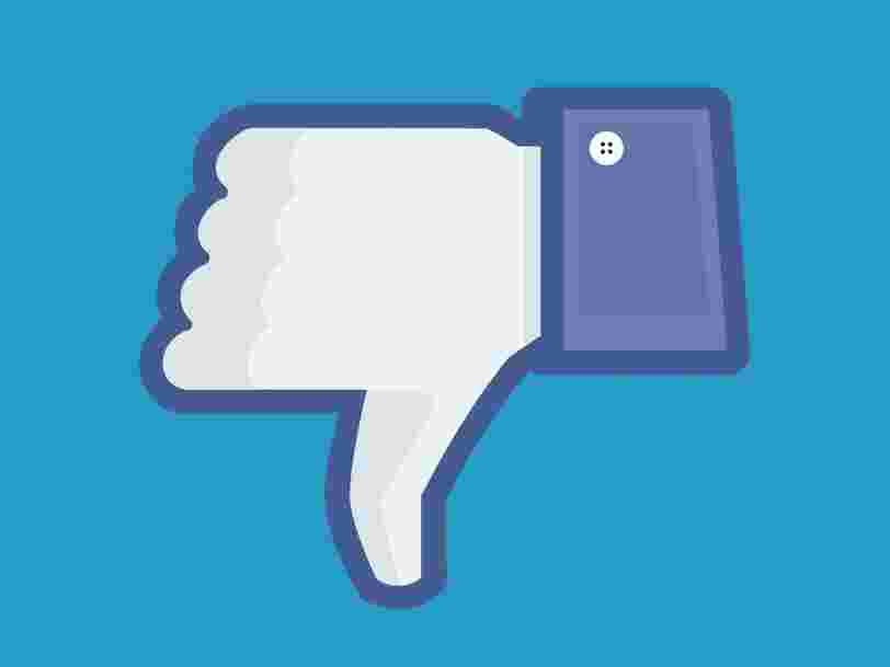 Facebook is testing a 'downvote' button — the next best thing to 'dislike'