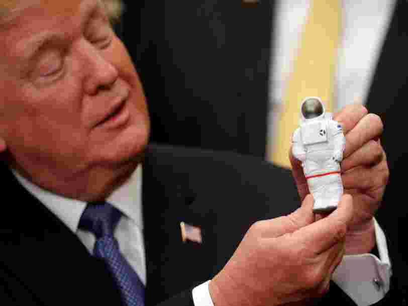 3 Apollo astronauts say they support Trump's plan to land people on the moon — but NASA would need to make two big changes