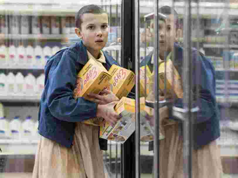 Netflix's 'Stranger Things' boosted Eggo waffle sales because one of the main characters is obsessed with them