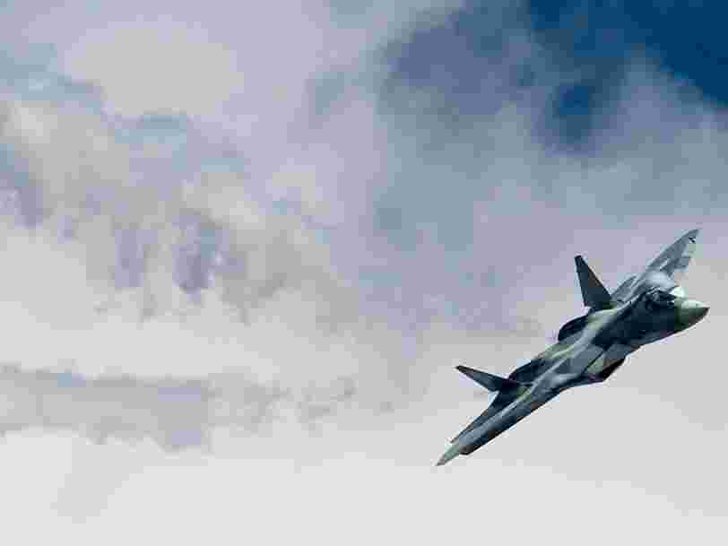 Russia admits defeat on its 'stealth' F-35 killer by canceling mass production of the Su-57 fighter jet