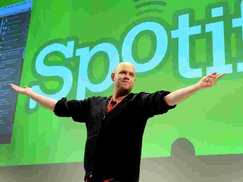 Spotify's 35-year-old co-founder wrote an emotional letter to investors promising to make users 'empathize' with each other and to 'feel part of a greater whole'