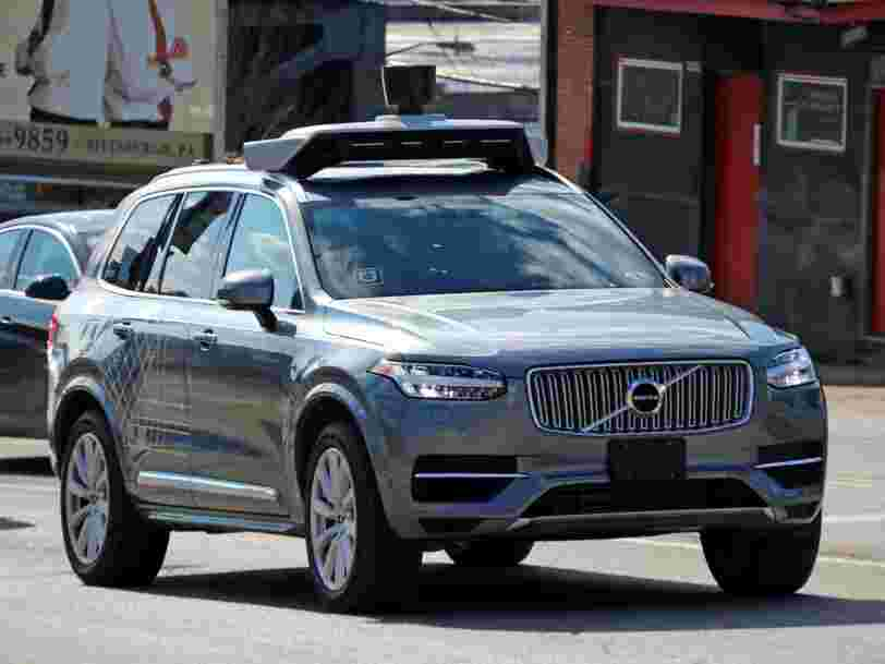 Uber says people are bullying its self-driving cars with rude gestures and road rage