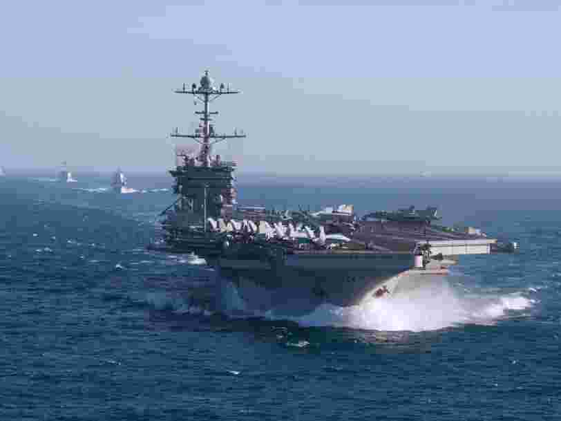 US Navy wants to get rid of an aircraft carrier to buy new weapons needed for a next-level fight with China
