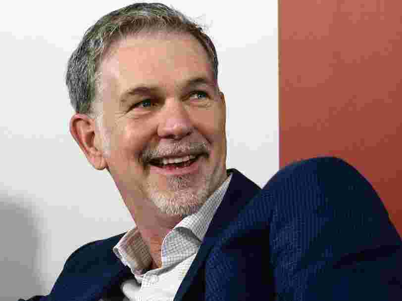 Why Netflix CEO Reed Hastings calls his company 'the anti-Apple'