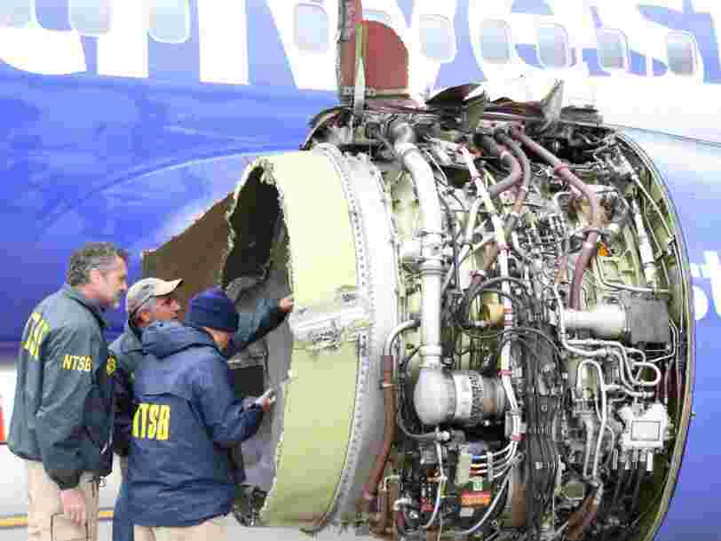 Passenger killed in Southwest engine explosion was partially sucked out of plane's broken window