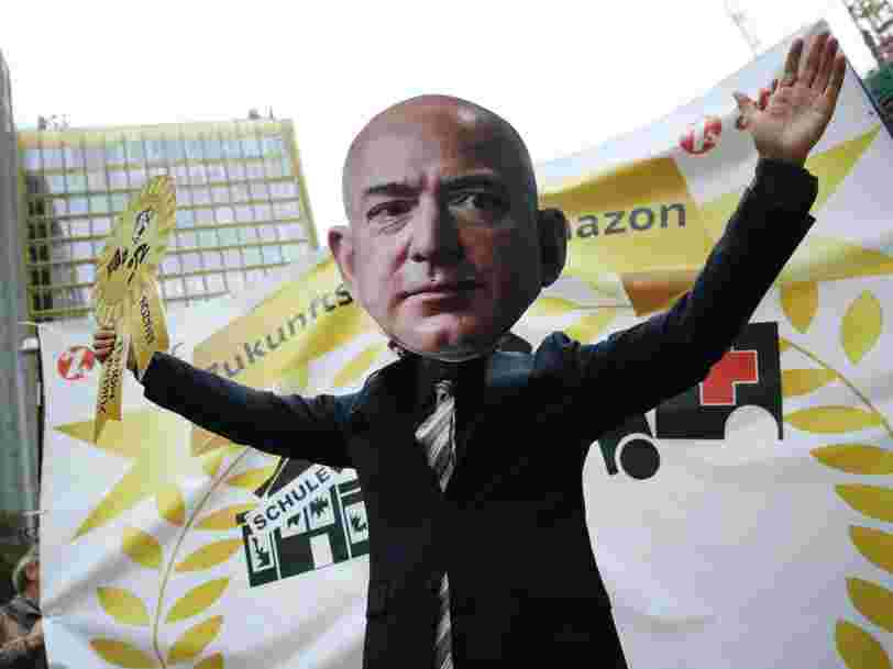 Amazon workers across Europe will protest 'inhuman' warehouse working conditions on Black Friday