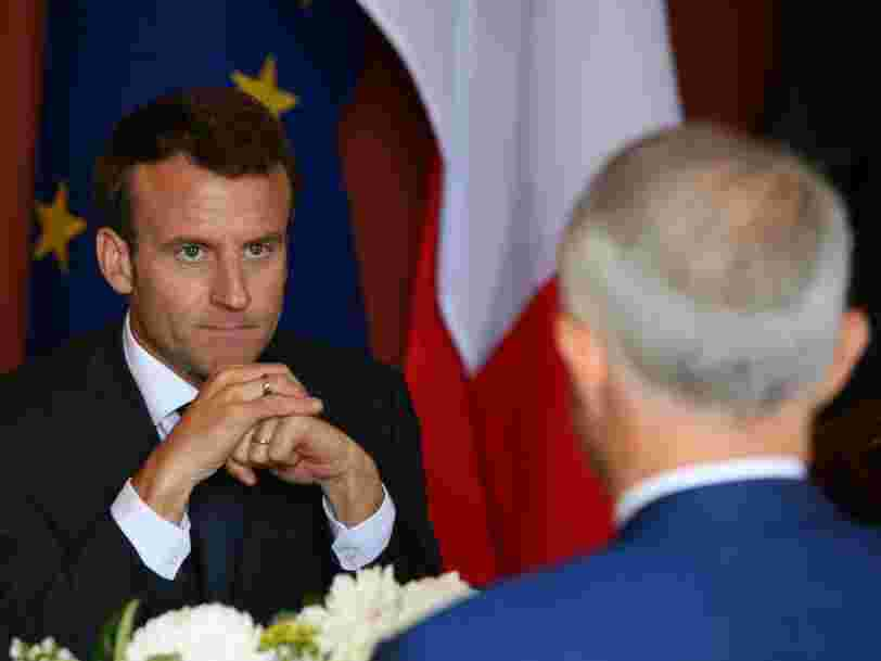 The leaders of France and Australia just took aim at China with pointed comments about following the rule of law