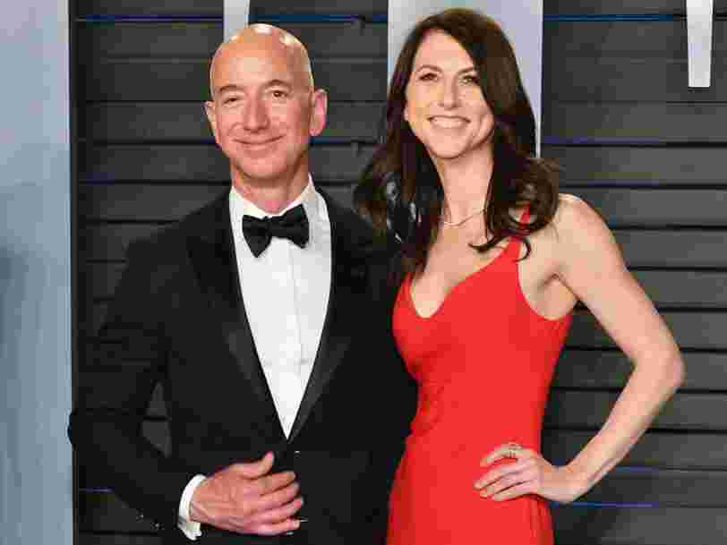 Jeff Bezos' ex-wife MacKenzie has donated $1.7 billion of her wealth since their divorce and taken a new last name