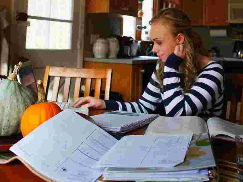 Teenagers are less likely to work today than any generation before them, and some say school is to blame