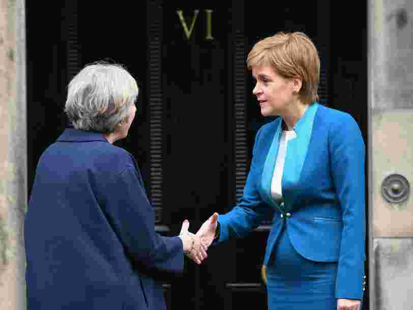 The UK is heading for a 'constitutional crisis' if May forces through Brexit without Scotland's consent