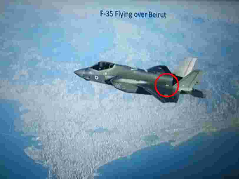 Strange notches on the F-35 raise questions about its first tastes of combat with Israel's air force