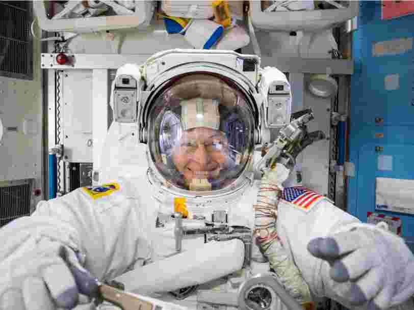 A NASA astronaut who spent 665 days circling the planet reveals the misery of going to the bathroom in space