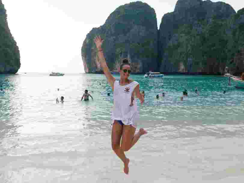 Thailand's famous beach from 'The Beach' is closing after damage by too many tourists