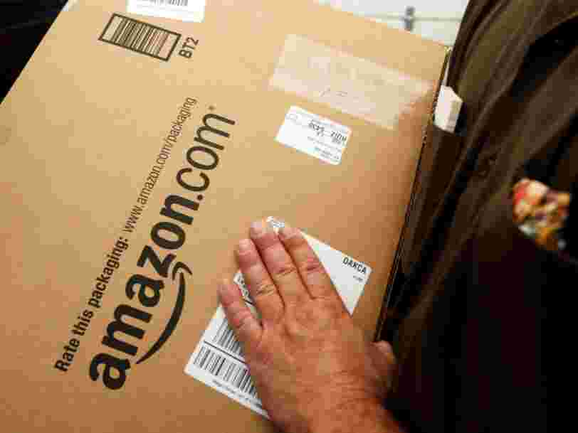 Amazon plants fake packages in delivery trucks as part of an undercover ploy to 'trap' drivers who are stealing