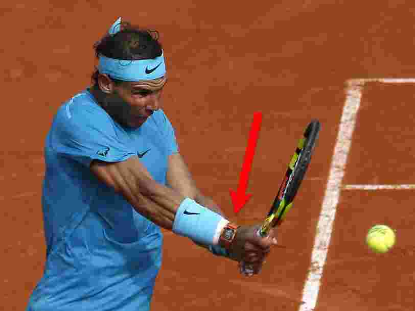 Rafael Nadal wore a $725,000 watch while he was winning the French Open