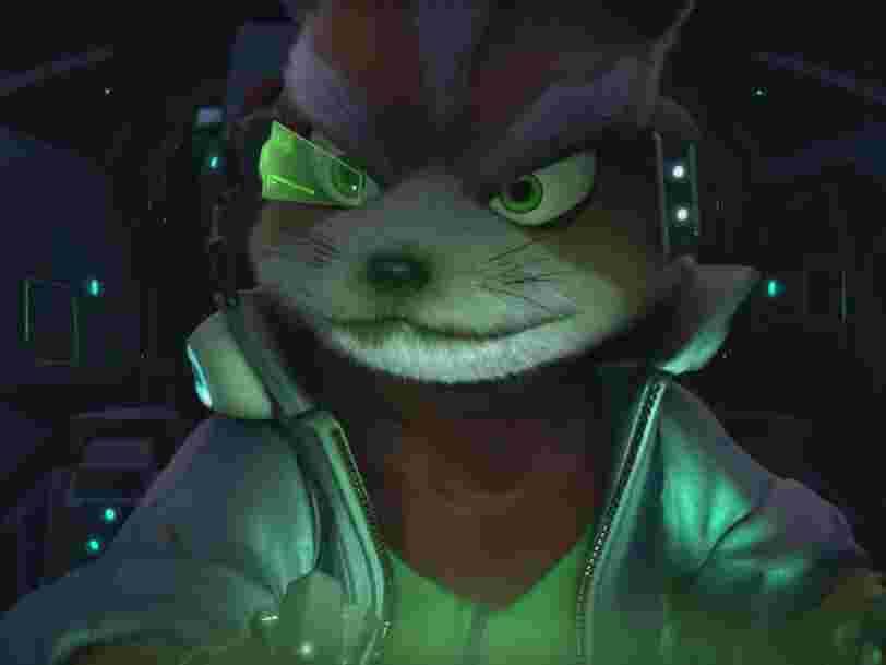 Nintendo is bringing back its classic 'Star Fox' series in a bizarre new way