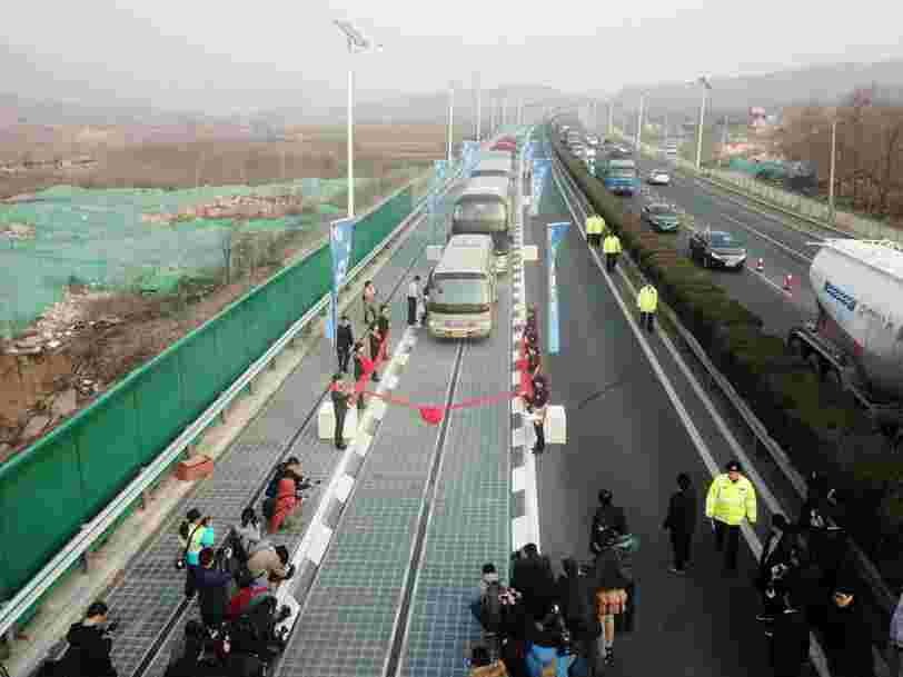 China could beat the US in a race to get solar power from highways