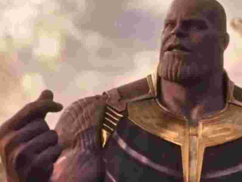 The Thanos subreddit successfully banned over 300,000 members in honor of 'Infinity War'