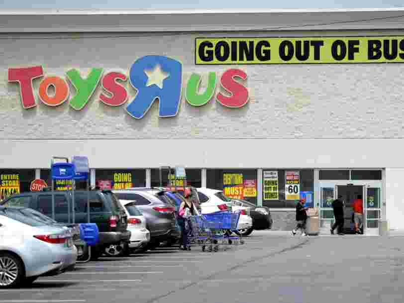 'Don't ever grow up': Toys R Us posts heartbreaking message on its last day of business