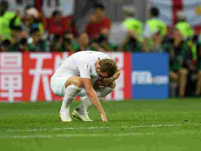 England captain Harry Kane 'gutted' to be knocked out by Croatia — but he could still win the golden boot