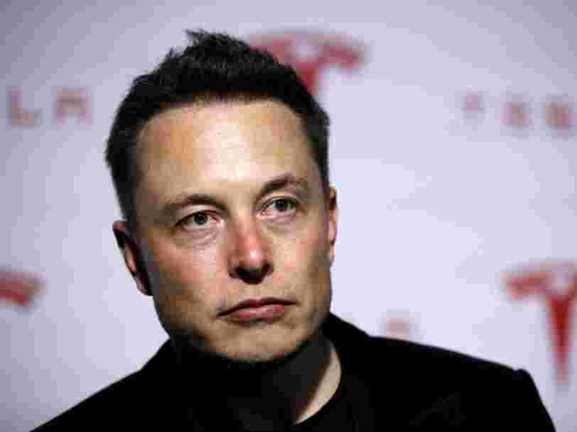 Elon Musk said he slept on the floor of Tesla's factory because he wanted to suffer more than any other employee during Model 3 'production hell'