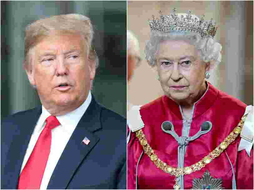 8 ways Trump could offend the Queen during his state visit to the UK