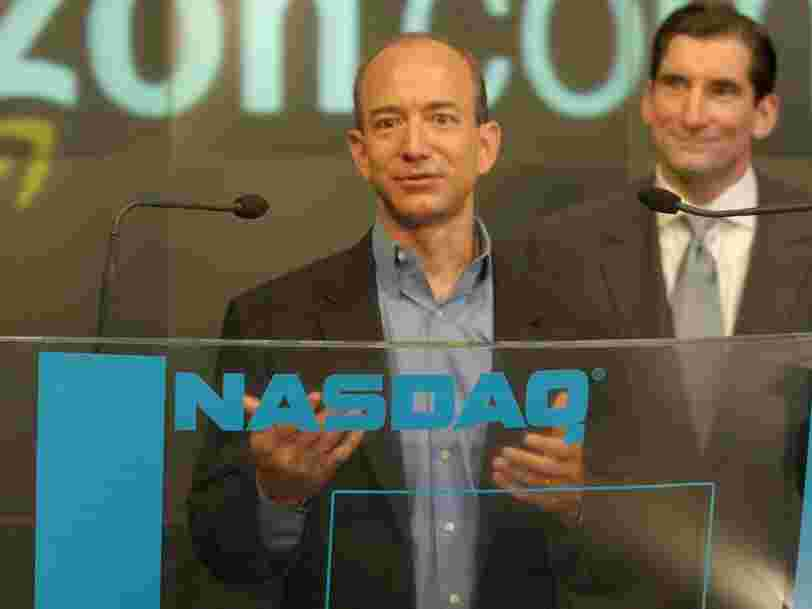 The list of Amazon's 'important strategic partners' from the year it went public illustrates exactly how successful it's become