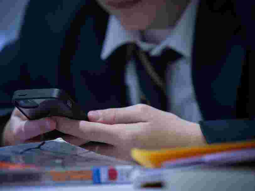 France just banned smartphones in schools during all hours of the day