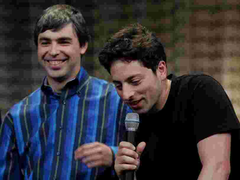 Read the goodbye letter Google cofounders Larry Page and Sergey Brin wrote to announce they're stepping down from their leadership roles at Alphabet