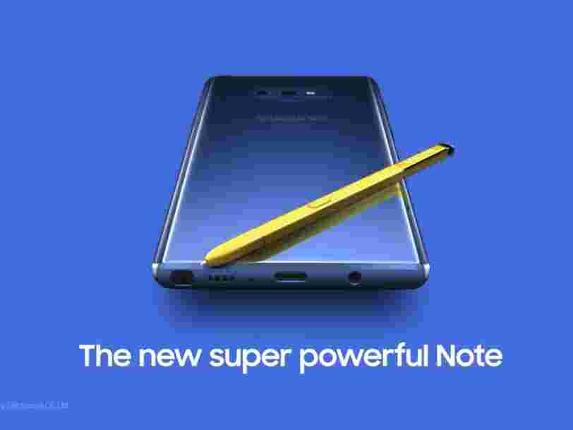 Samsung just accidentally posted a video to YouTube that reveals more details about the Galaxy Note 9