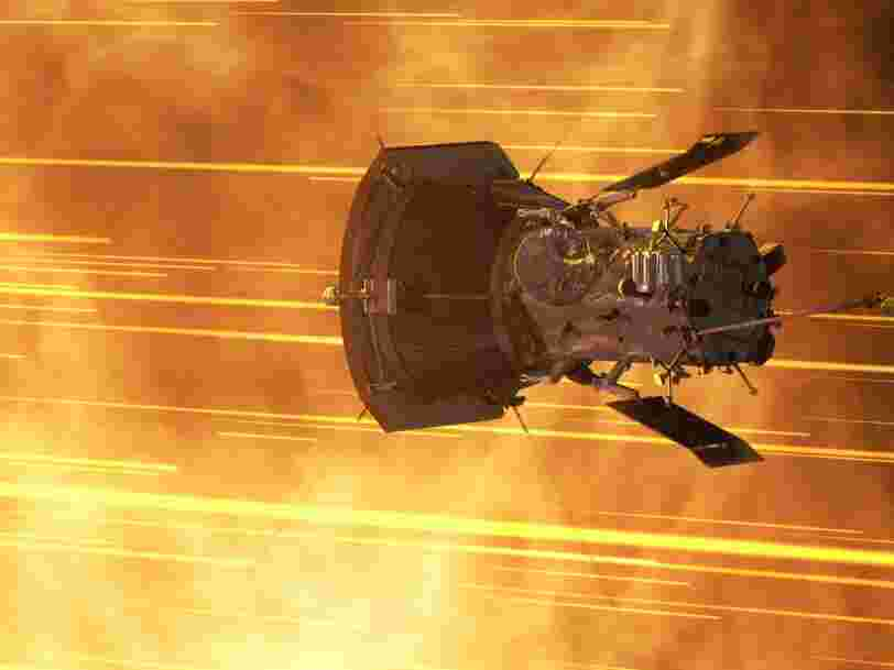 NASA just smashed the record for the fastest human-made object — its $1.5 billion solar probe is flying past the sun at up to 213,200 mph