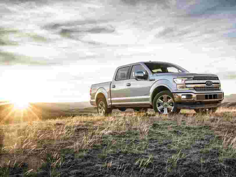 These are the 20 best-selling cars and trucks in America in 2018
