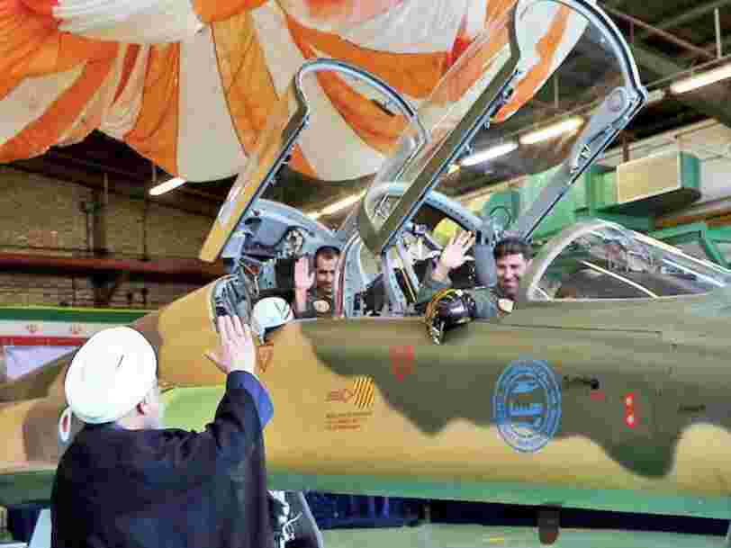 Iran's new jet fighter looks like a big joke — but its real purpose could save Iran's air force