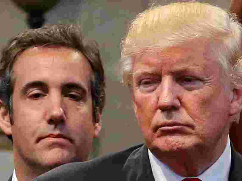 Trump and Michael Cohen reportedly came up with a plan to buy 30-plus years of dirt The National Enquirer built up on him