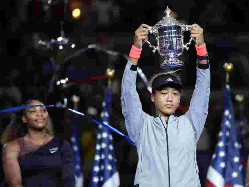 20-year-old Naomi Osaka defeats Serena Williams in a chaotic US Open final racked by violations