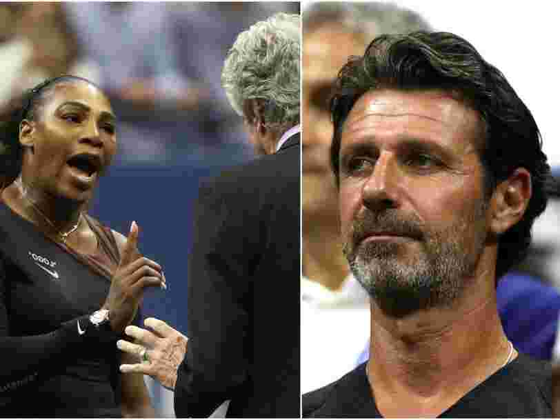 This is what 'coaching' means in tennis — and why Serena Williams was penalized for it