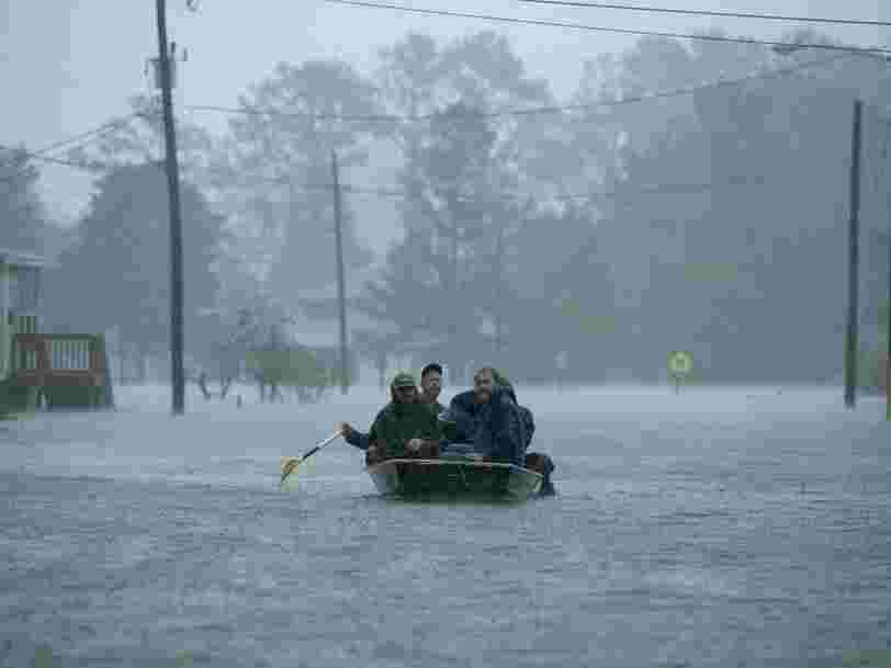 At least 9 people have died in Hurricane Florence, and nearly 1 million are without power. The storm set a new rainfall record in North Carolina.