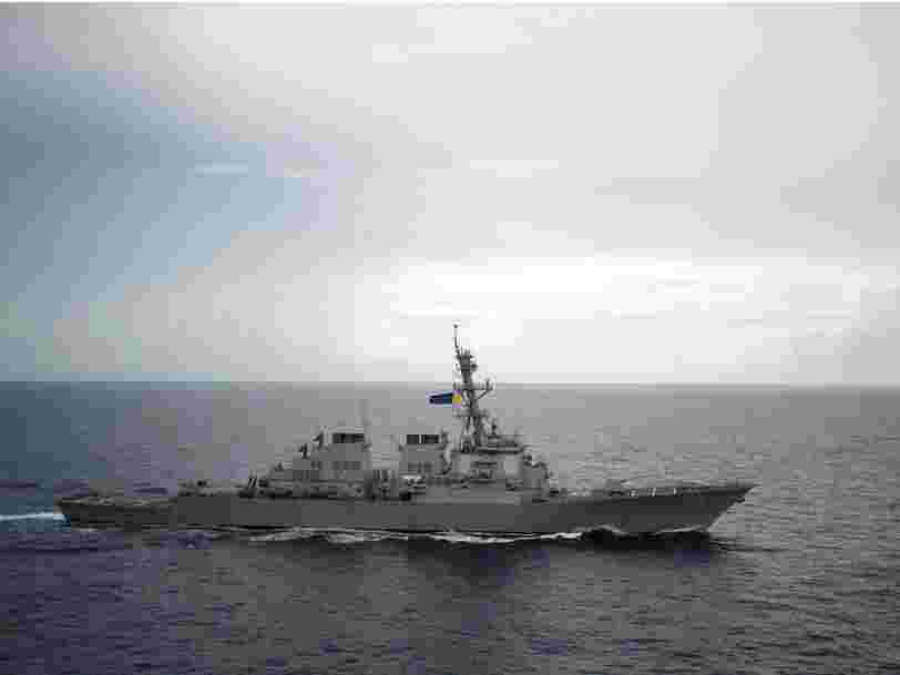 Australia warned China against 'intimidation' in the South China Sea after a tense standoff with a US destroyer