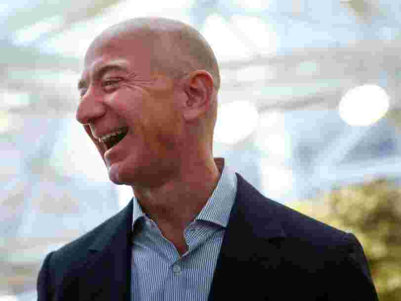 We did the math to calculate how much money Jeff Bezos makes in a year, month, week, day, hour, minute, and second