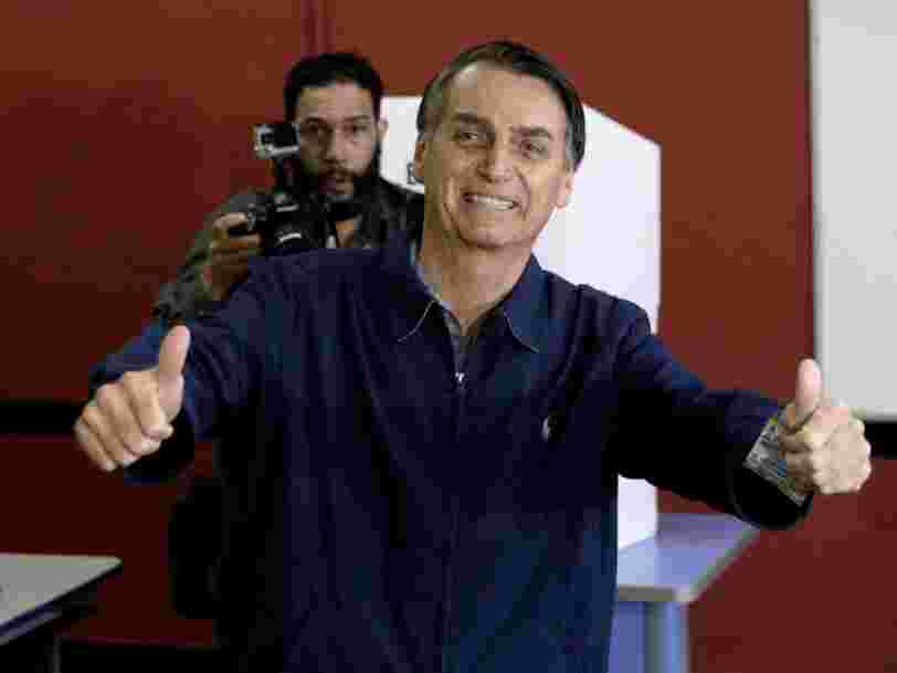 The 'Brazilian Donald Trump,' Jair Bolsonaro, is visiting the White House. He was elected president despite saying he couldn't love a gay son and that a colleague was too 'ugly' to be raped