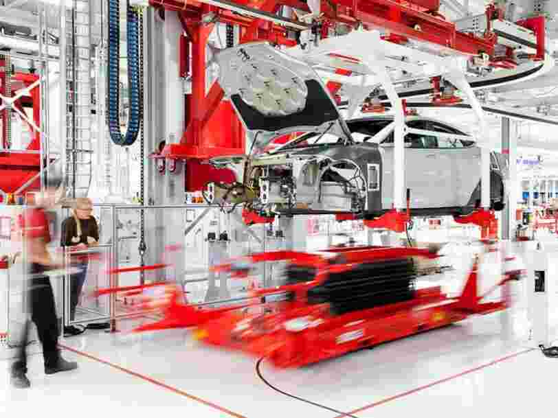 Tesla's VP of manufacturing is out