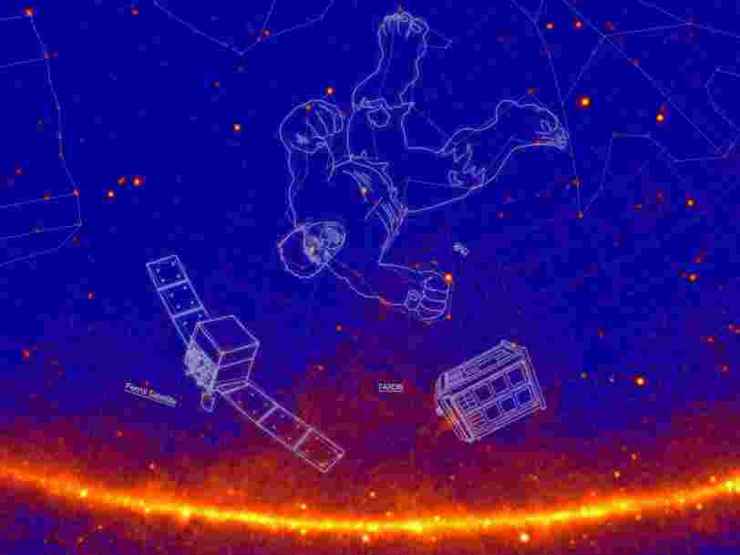 NASA came up with 21 new constellations - including Albert Einstein, Godzilla, and the Starship Enterprise