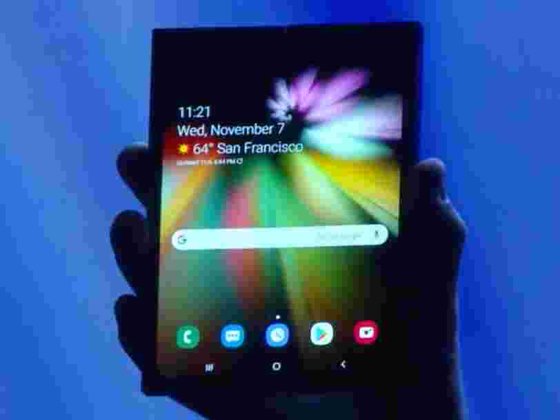 Samsung will show off its foldable phone in February and it might be called the Fold, Galaxy Fold, or Galaxy F