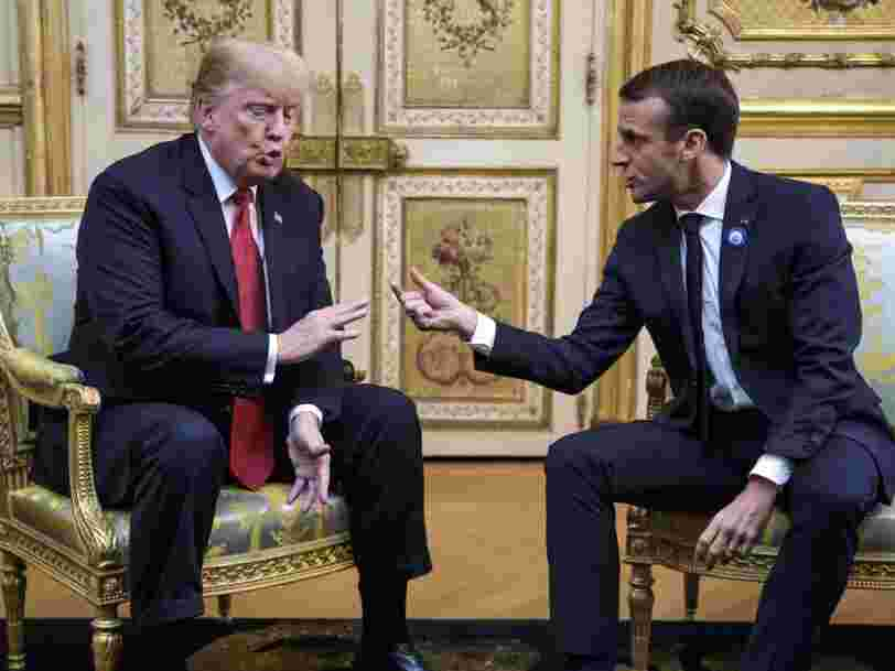 Trump gets the last laugh on Macron with Paris burning after his rebuke of 'America First'