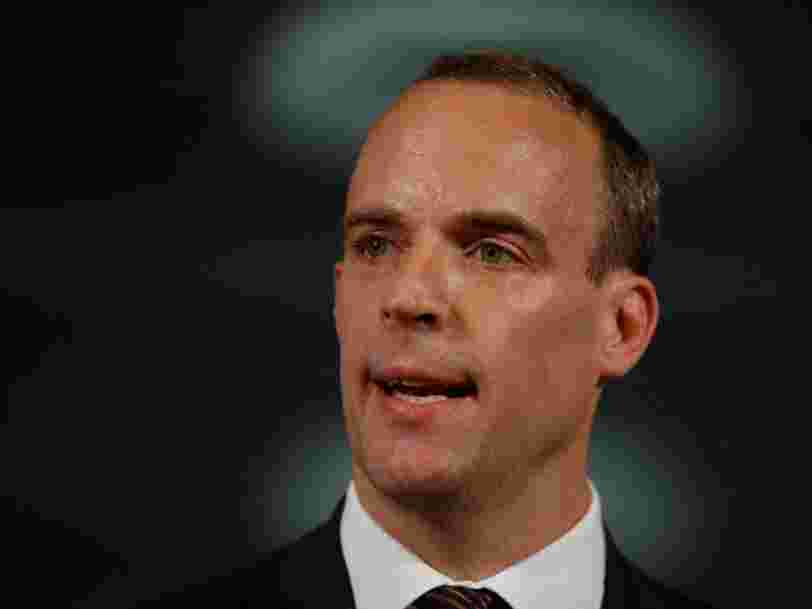 The Brexit Secretary Dominic Raab resigns in protest over May's deal