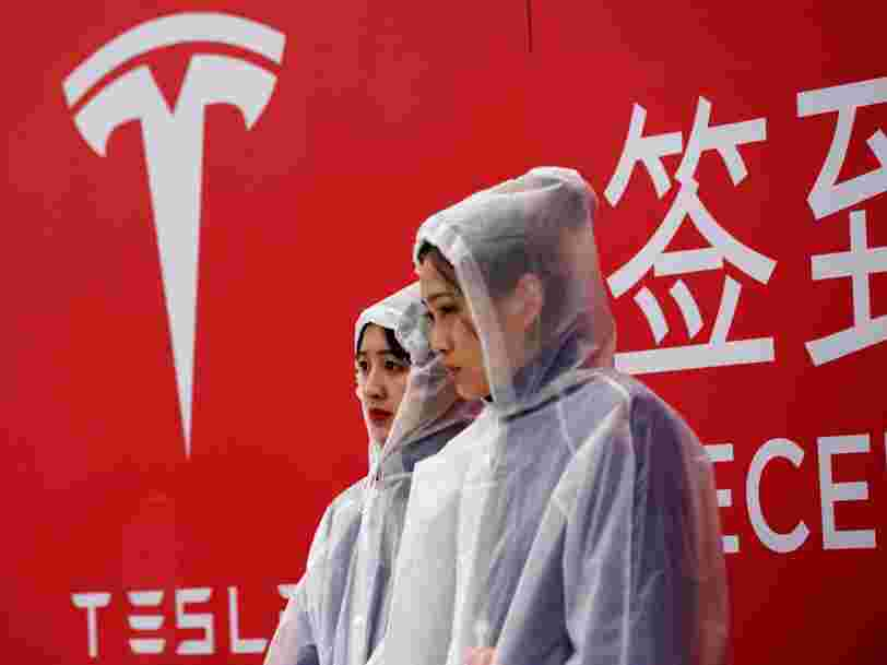 Tesla reached an agreement with a group of Chinese banks to secure over $500 million in loans for its new Gigafactory in Shanghai
