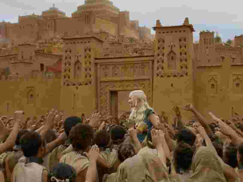 One of the most famous places in the world is a tiny desert town in Morocco where everything from 'Game of Thrones' to 'Gladiator' was filmed