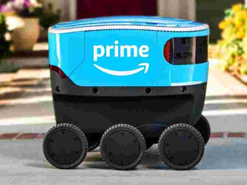 Amazon has revealed a new autonomous-delivery robot named 'Scout'