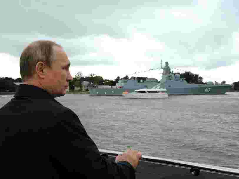 Russia says it's arming its warships with a new weapon that makes enemies want to vomit